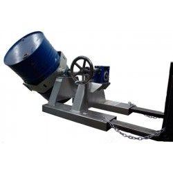 Para cargar bombonas y bidones--Implemento volteo lateral bidón