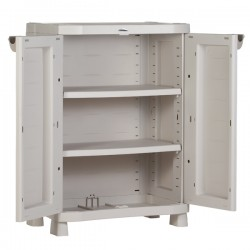 Resin Cabinet 1000x700x450 with 2 Shelves
