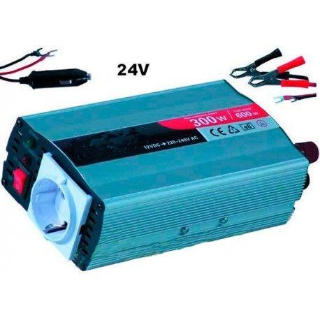 Baterías y accesorios--Transformador 24V/230V 300W con USB