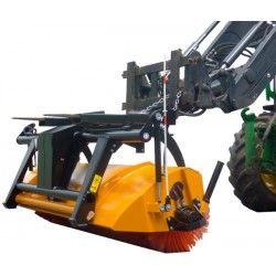 Barredoras y cepillos--Barredora para Carretilla Uso Agrícola