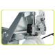 Transpaletas inox y galvanizadas--Transpaleta Galvanizada Corta 800x525mm