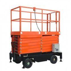 Plataformas-TYMBIA-Plataforma Elevadora de Tijera 6m-500kg (a batería)