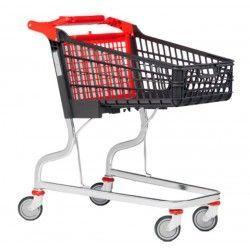 Supermercados y almacenes--Carro Supermercado PVC 90Litros