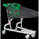 Carro Supermercado PVC 110Litros