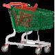 Carro Supermercado PVC 140Litros
