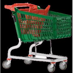 Supermercados y almacenes--Carro Supermercado PVC 140Litros