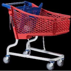 Supermercados y almacenes--Carro Supermercado PVC 150Litros