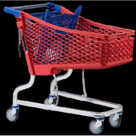 Carro Supermercado PVC 150Litros