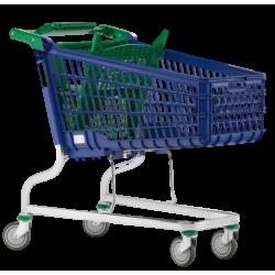 Supermercados y almacenes--Carro Supermercado PVC 160Litros
