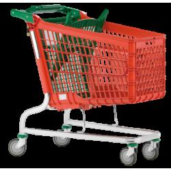 Supermercados y almacenes--Carro Supermercado PVC 195Litros