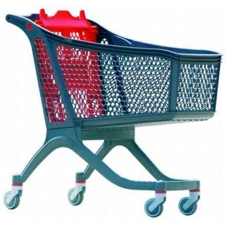Supermercados y almacenes--Carro supermercado PVC 165Litros
