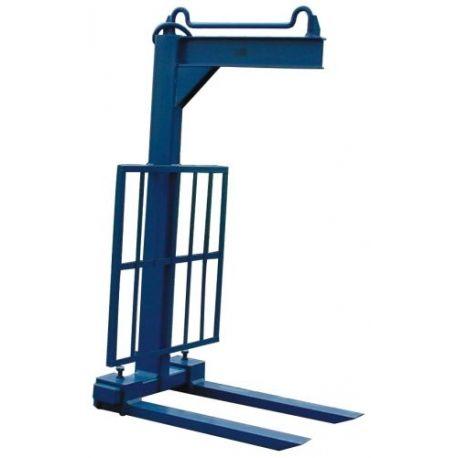 Portapalets--Portapalet uñas móviles 1.500 kg