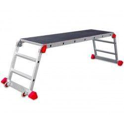 Escaleras--Plataforma de trabajo Plegable para uso Profesional