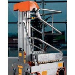 Recogepedidos, Elevadores para Picking--Plataforma Elevadora Ultraligera 200kg a 3m Elevación