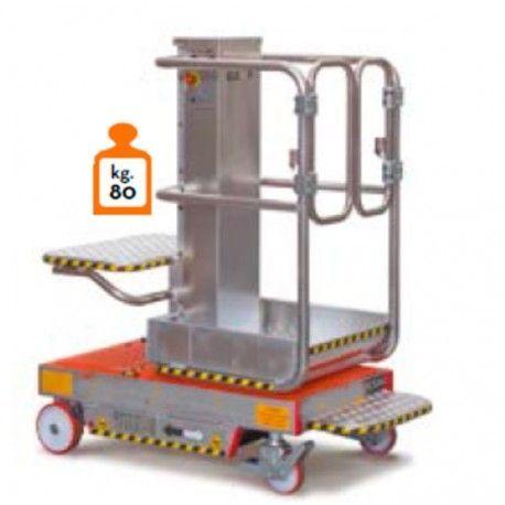Plataforma Elevadora 200kg a 2,70m Elevación