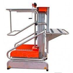 Plataforma Elevadora 150kg a 1,93m Elevación