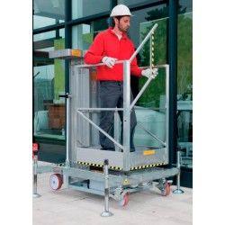 Plataformas--Plataforma Elevadora Manual 200kg a 5,25m Elevación