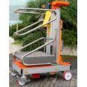Plataforma Elevadora Manual 200kg a 4,08m Elevación
