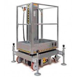 Plataforma Elevadora Manual 200kg a 3m Elevación