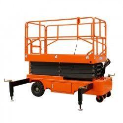 Plataforma Elevadora de Tijera 6M-500kg (tracción eléctrica)