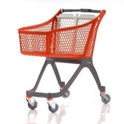 Supermercados y almacenes--Carro Supermercado PVC 130 Litros