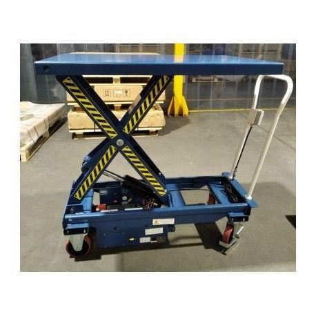 Mesa Elevadora Eléctrica (a batería) 1000kg a 1200x800mm