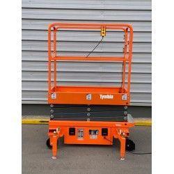 Plataforma Elevadora de Tijera 3.9m-300kg a Cable