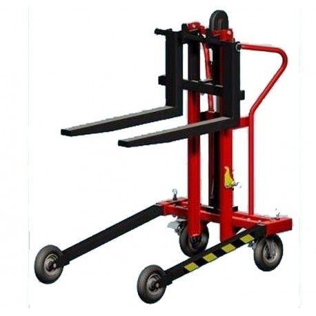 Transpaleta Manual Todoterreno 250kg a 850mm de Elevación