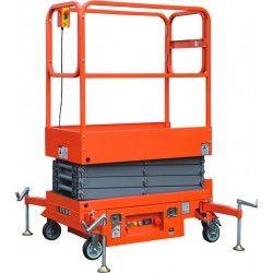 Plataforma Elevadora de Tijera 4.70m-200kg (a batería)