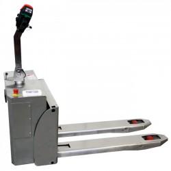 Transpaletas inox y galvanizadas--Transpaleta Eléctrica Inox 1300kg