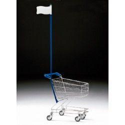 Supermercados y almacenes--Carro Supermercado Metálico
