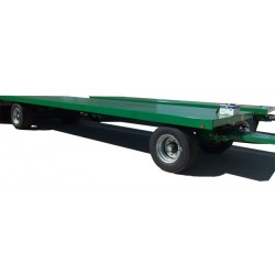 Remolques y Tanquetas--Remolque Industrial 8000kg de Plataforma