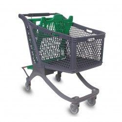Carro Supermercado Plástico 180L