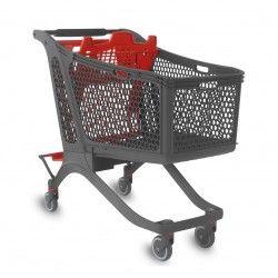 Carro Supermercado Plástico 240L