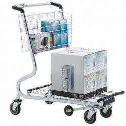Supermercados y almacenes--Carro de transporte para múltiples tareas