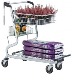 Supermercados y almacenes--Carro de transporte para establecimientos de jardinería y bricolaje