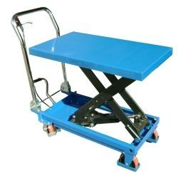 Manual lifting table 500kg to 900mm