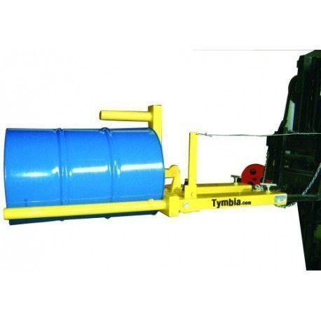 Implemento para cargar bidones horizontal-vertical