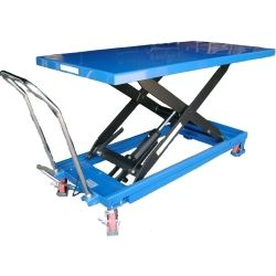 Manual lifting table 500kg to 915mm (super base)