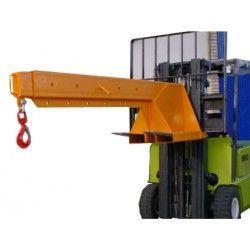 Grúas y ganchos carretilla--Grúa para Carretillas Fija 3.000kg