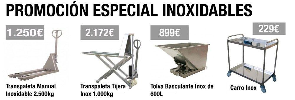Promoción Especial Inox